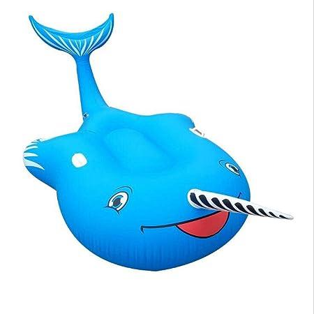 Y-M-H Piscina Inflable de Ballenas inflables de la Cama ...