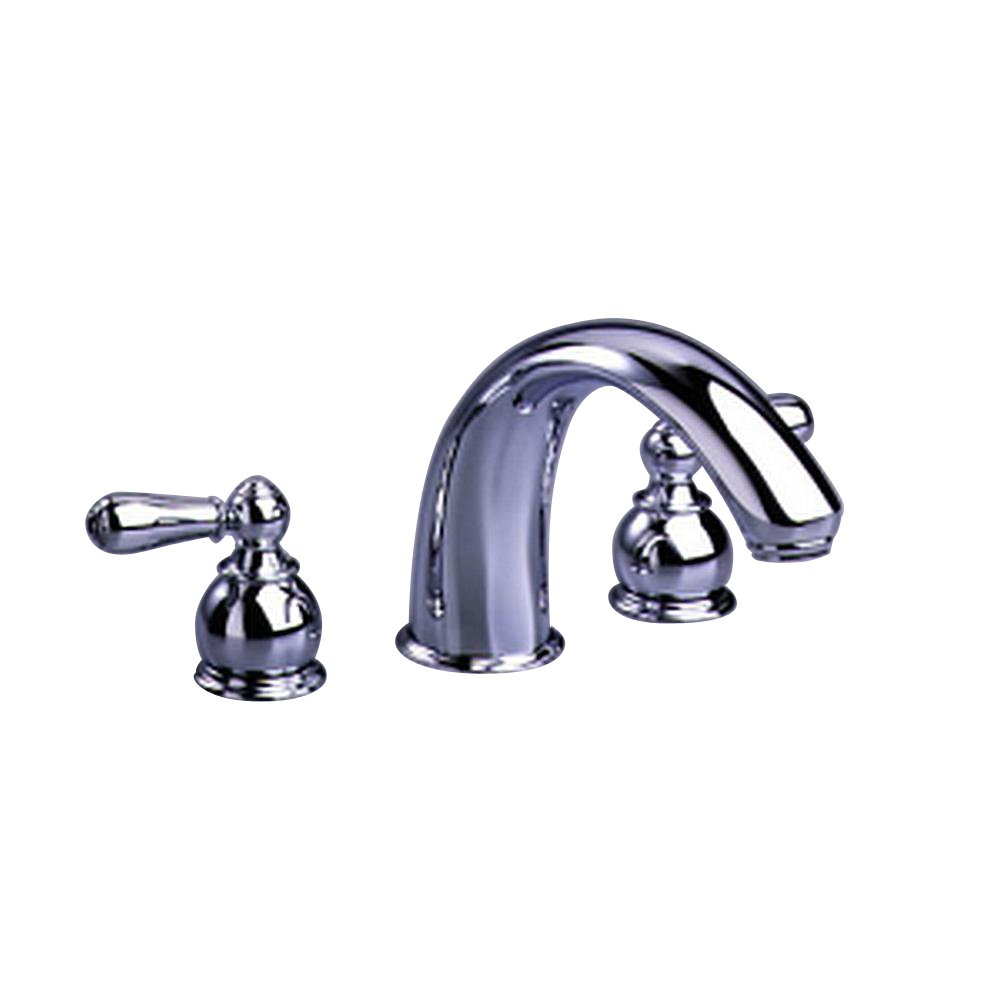 American Standard T980.732.002 Hampton Deck-Mount Tub Filler Trim ...