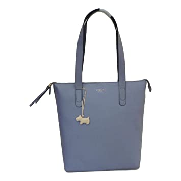 bd1258e8057 Radley Large Zip Top Shoulder Tote Bag  Guildhall  in Lilac Leather ...