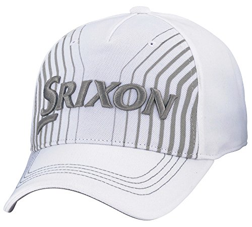 DUNLOP(ダンロップ) SRIXON キャップ メンズ SMH8135L ホワイト