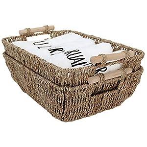 51GmfWmGX7L._SS300_ Wicker Baskets & Rattan Baskets
