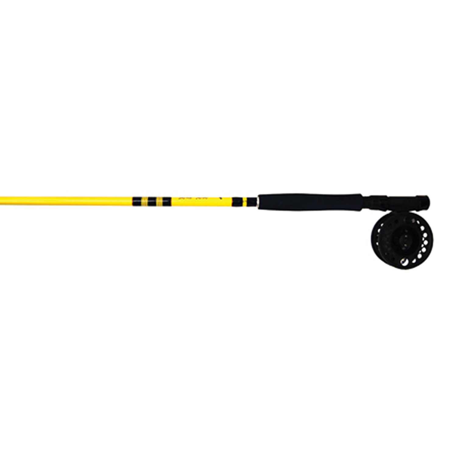 Eagle Claw Fly Combo, 2 Piece (Yellow, 8-Feet 6-Inch) by Eagle Claw