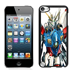 Nice Designed Phone Case With Gundam 2 Cover Case For iPod Touch 5th Black Phone Case CR-272