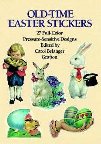 Old-Time Easter Stickers