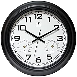 Infinity Instruments Garden 18 Metal Outdoor Clock