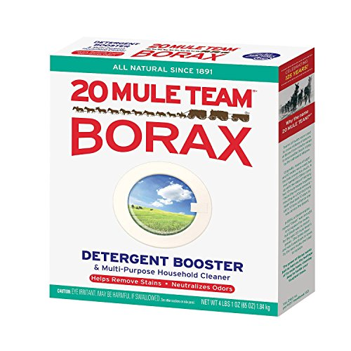 Price comparison product image 20 Mule Team Borax Detergent Booster & Multipurpose Cleaner (65oz.) - (Original from manufacturer - Bulk Discount available)