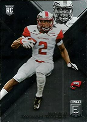 2017 Panini Elite Draft Picks Draft Picks #182 Taywan Taylor Western Kentucky Hilltoppers Football C