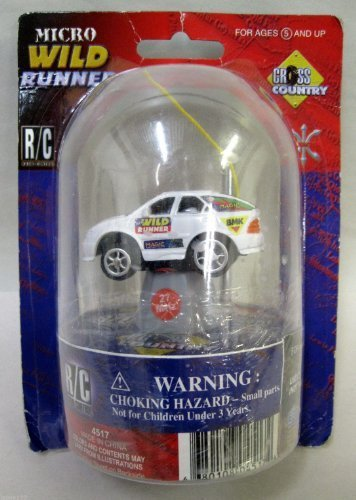 Excite Limited R/C Micro Wild Runner Cross Country Radio Remote Control Car by Excite Limited