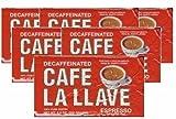 Comprar Cafe La Llave Decaf 6 PACK Cuban Espresso Ground Coffee 6 x 250 g en Amazon
