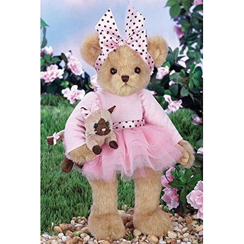 (Bearington Bella and Stella Teddy Bear and Cat Pair Stuffed Animal Toys 14
