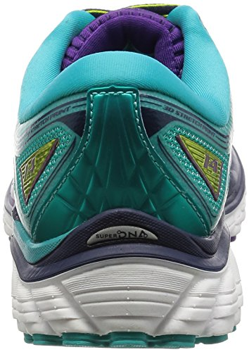Glycerin Multicolor Zapatillas Punch Brooks Ceramic de 14 Running Pansy Mujer Lime dEwqY7v