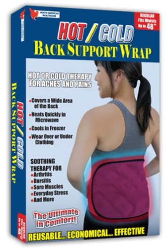 Jobar Hot/Cold Back Support. (Cold One Back Wrap)