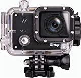 Blueskysea Gitup Git2 Waterproof Sports Action Camera Wifi Novatek 96660 2k 1080p 30fps Full Hd for Sony Imx206 16mp Sensor Support G-sensor with Keychain (With Extra Mic+Remote Control)