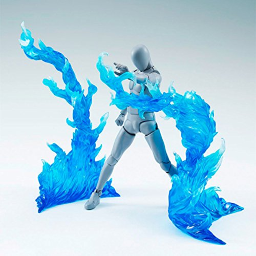 EA-STONE Reality Tamashii Effect Burning Flame Action Figure (Blue)