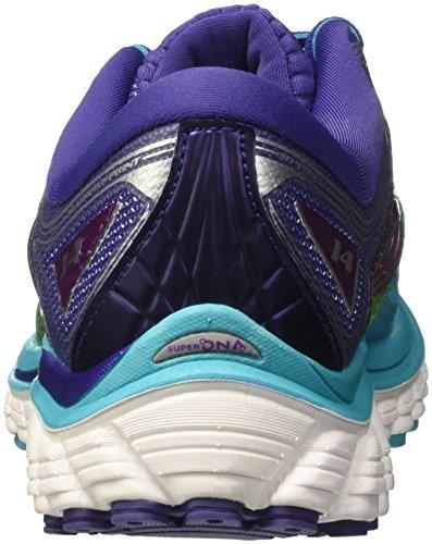 purplecactusflower 14 Femme Chaussures scubablue Glycerin navyblue Course De Brooks Turquoise z5Hqw