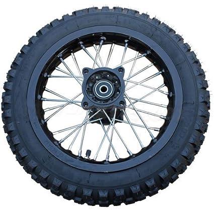 amazon com 14 rear wheel assembly for 110 cc 125cc 150 cc 200cc rh amazon com