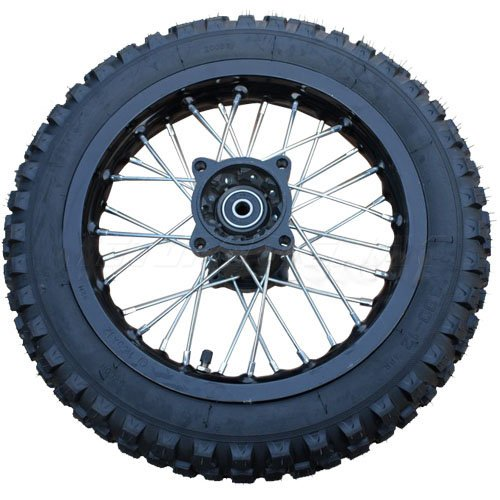 Motorcycle Rear Wheel Assembly - 2