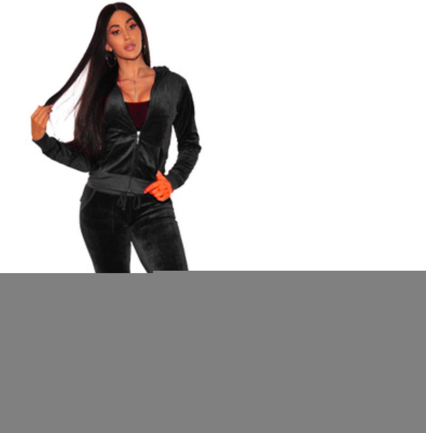 kxZIIqWB Women Sexy Print Bodycon Dress + Pants Cashmere Sports Suit