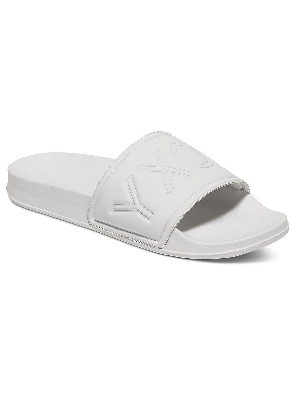 6c998d6eacd38b Roxy Womens Slippy - Slider Flip-Flops - Women - 11 - White White White 11   Amazon.co.uk  Shoes   Bags