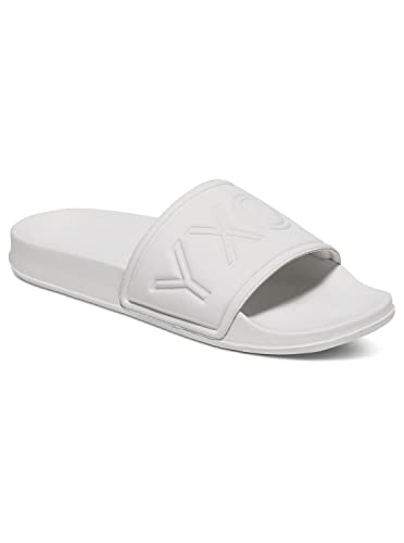 1fc800765acd Roxy Womens Slippy - Slider Flip-Flops - Women - 11 - White White ...