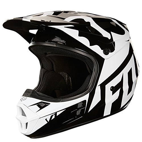 2018 Fox Racing V1 Race Helmet-Black-M ()