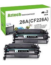 Aztech 2 Toner Compatible pour HP 26A CF226A (26X CF226X) Toner pour HP Laserjet Pro MFP M426DW M402DN 402DN M402D M402N M402DNE M402 M426FDW 426FDW M426FDN HP 426FDN M426