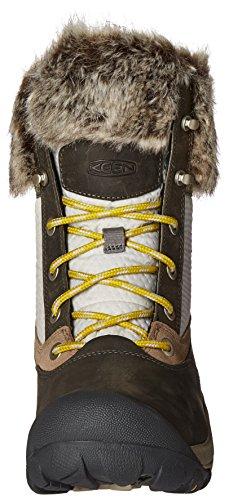 Feen Womens Hoodoo Iii Low Waterproof Shoe Gargoyle / Warm Olive