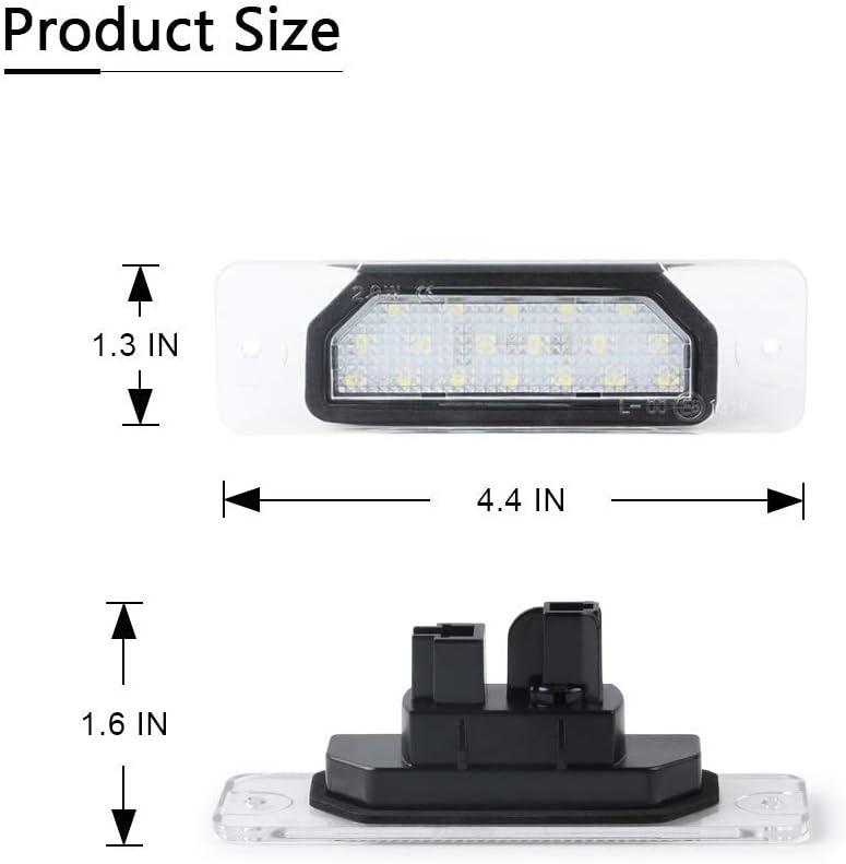 Monland Car Led Number License Plate Light Fit For Infiniti Fx35 Fx45 Q45 I30 I35 Q70 Car Accessories