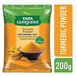 Tata Sampann Turmeric Powder Masala, 200g 51GmkxXq0kL
