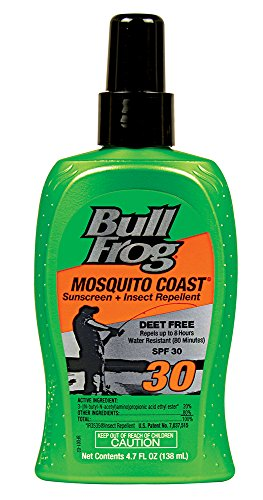 - Bull Frog Mosquito Coast Sunscreen Insect Repellent Pump Spray - SPF 30-4.7 oz