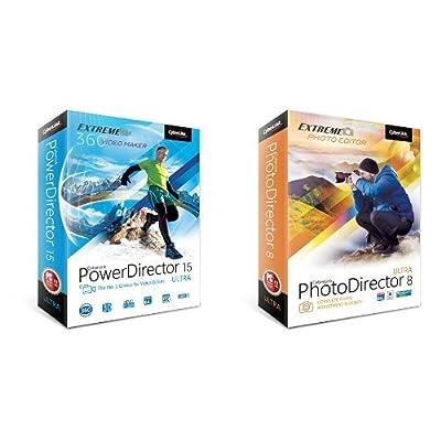 CyberlinkPowerDirector 15 Ultra and PhotoDirector 8 Ultra bundle
