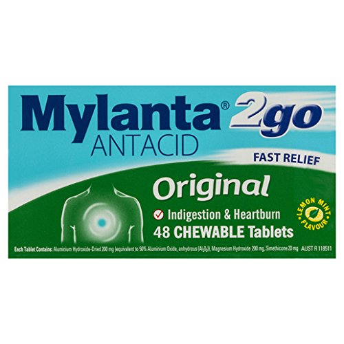 Mylanta Original 48 Tablets ()