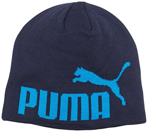 PUMA Mütze Big Cat Beanie, Black Iris-No1 Logo, OSFA, 834016 57