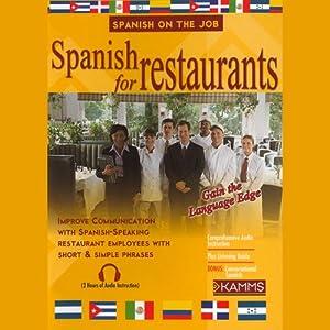 Spanish for Restaurants Audiobook
