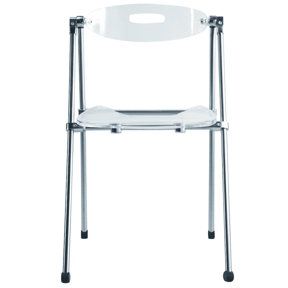 Amazon.com: Nova Furniture Group Acrylic Folding Chair ...