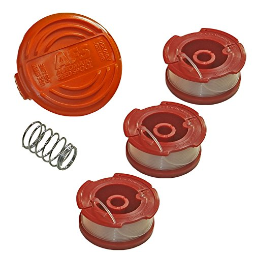 (Black & Decker 3 Pack of AF100 Trimmer Line Spools and RC100)