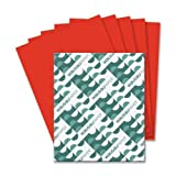 Wholesale CASE of 15 - Wausau Astrobrights Colored Paper-Astrobright Paper, 24Lb, 8-1/2''x11'', 500/PK, Re-Entry Red