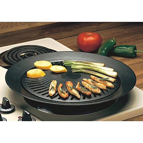 New Smokeless Indoor STOVETOP BBQ GRILL Barbeque Kitchen Barbecue Pan - Kitchen Small Appliances