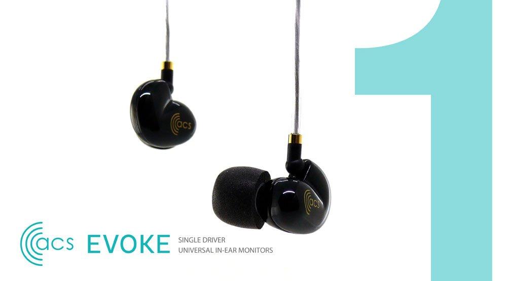 Evoke イヴォーク ユニバーサルフィット インナーイヤーモニター ACS-EVK-U04   B06XVNFNKW