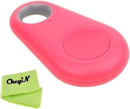 Ckeyin /®tama/ño mini Anti-perdida Rastreador de llave inteligente Bluetooth Buscador iTag Bluetooth Anti-perdida recordatorio BT mascotas perseguidor del gato del perro de los ni/ños del perseguidor iTag Perdido