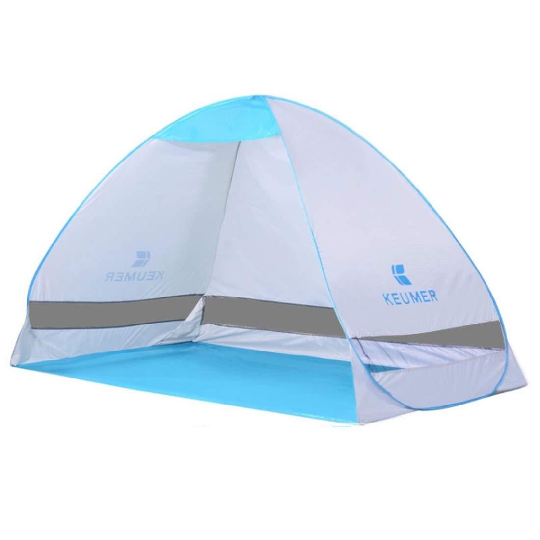 Fepelasi Im Freien kampierendes tragbares Zelt für das Zelt mit 2 Personen (Farbe : Weiß)