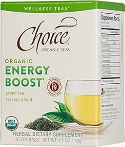 Choice Organic Teas, Energy Boost Wellness Tea, 16 Count