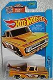 72 chevy toy truck - Hot Wheels 2015 HW City Custom '62 Chevy 72/250, Light Orange