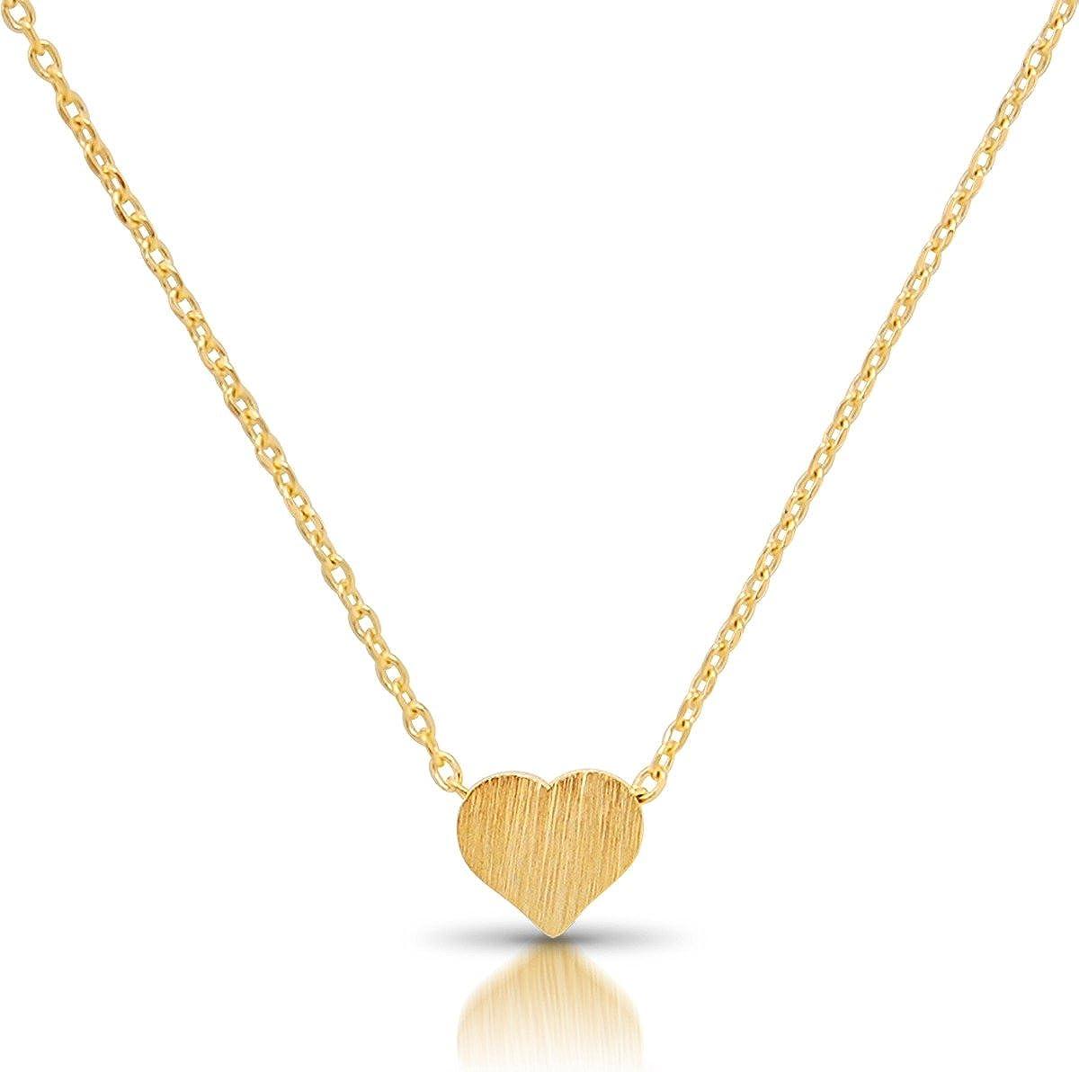 heart locket layering necklace bridesmaid gift Delicate heart Pendant Diamond Cz heart necklace Delicate Tiny CZ Heart Choker necklace
