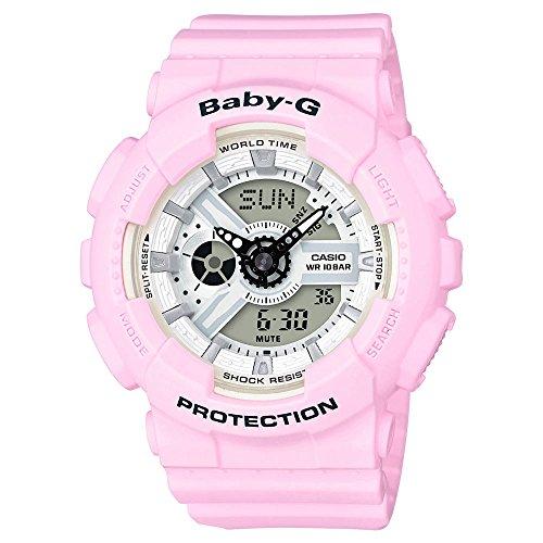 Casio Baby-G Analog-Digital Beach Watch (Baby G Pink Dial)