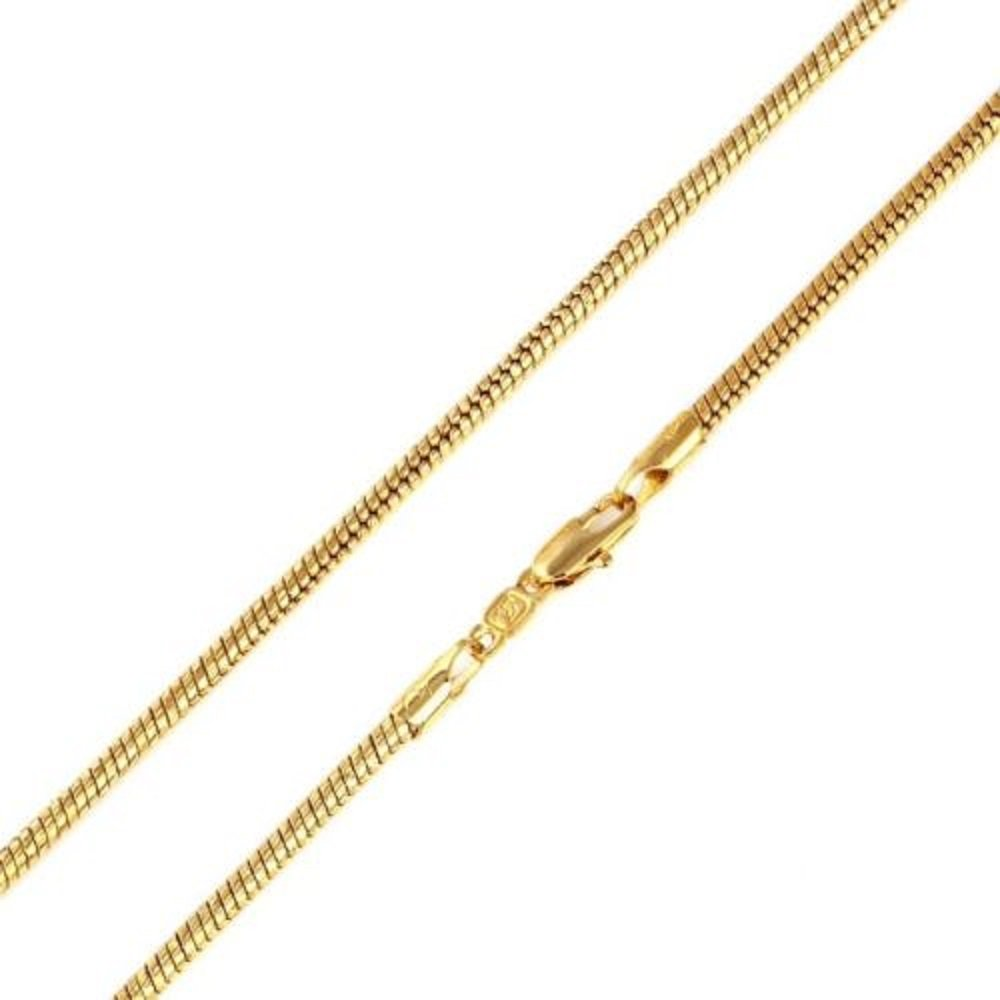 9ct 9K Gold Plated Men Women Snake Chain 18