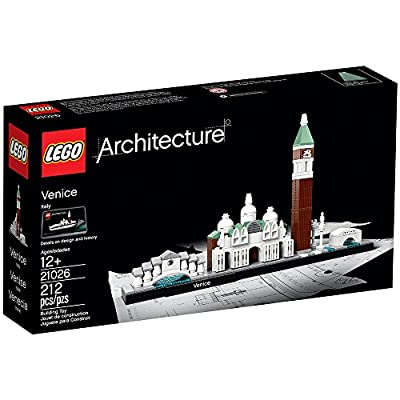 LEGO Architecture Venice 21026 Skyline Building Set: Toys & Games