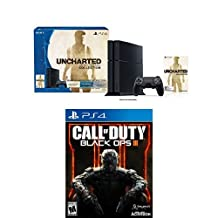 Uncharted: The Nathan Drake Collection 500GB PS4 with Call of Duty: Black Ops III Bundle