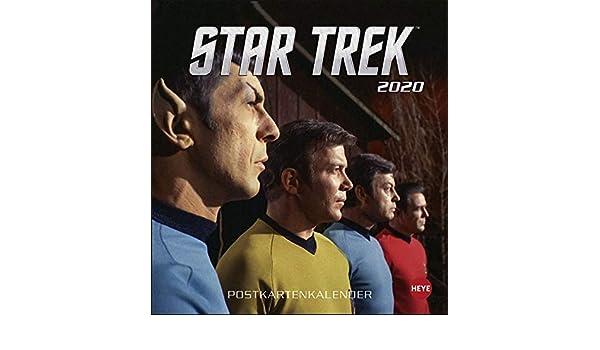 Star Trek Broschurkalender 2020 Oficina y papelera Calendarios ...