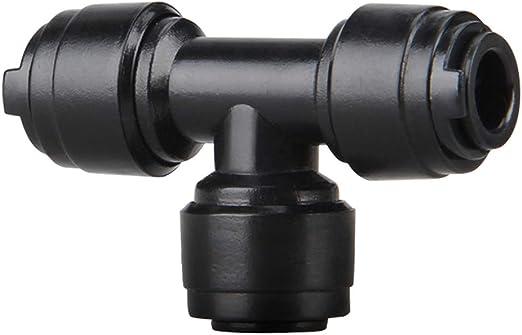 lansuiyour 3 vías Pipe Joint Aquarium Conector de la tubería de Agua Purificador de Aire Adaptador de pulverización de Accesorios Accesorios Sistema de riego de jardín: Amazon.es: Productos para mascotas